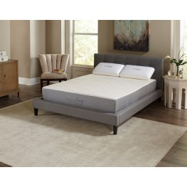 "10"" Visco Memory Foam Twin Long Mattress"