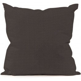 Seascape Charcoal Large  Pillow