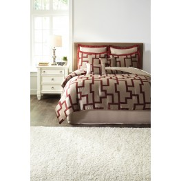 Aiza Wine Queen Comforter Set