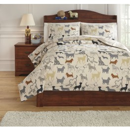 Howley Multi Twin Duvet Cover Set