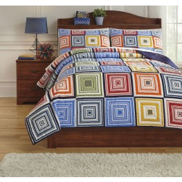 Tazzoni Multi Full Coverlet Set