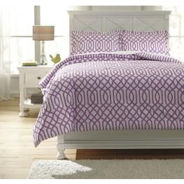 Loomis Lavender Full Comforter Set