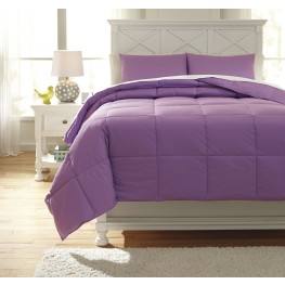 Plainfield Lavender Full Comforter Set