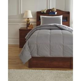 Plainfield Gray Twin Comforter Set
