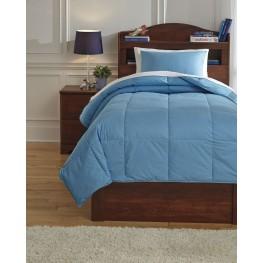 Plainfield Aqua Twin Comforter Set