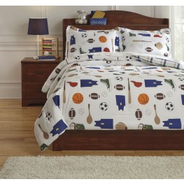 Varias Multi Full Comforter Set