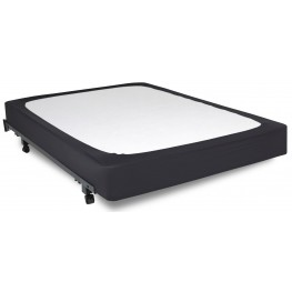 Stylewrap Black Queen Box Spring Cover
