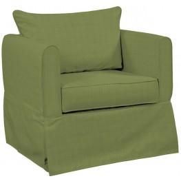 Alexandria Seascape Moss Chair Cover