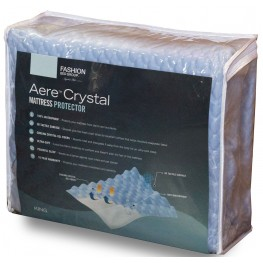 Aere Blue Full Xl Mattress Protector