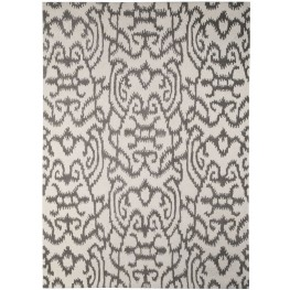 Benbrook Gray and Ivory Large Rug