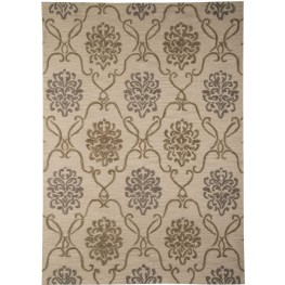 Haidar Brown and Gray Large Rug