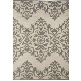 Bafferts Tan and Gray Medium Rug