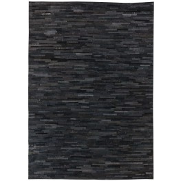 Cowhide Black Medium Rug