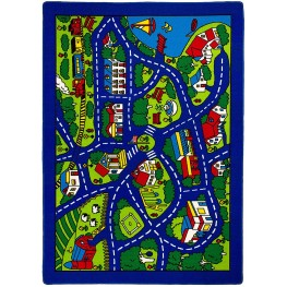 Abbey Road Map Small Area Rug