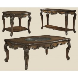 Rochelle Chestnut Rectangular Occasional Table Set