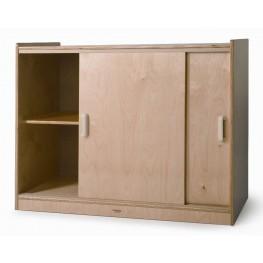 Sliding Doors Storage Cabinet