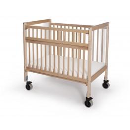 Infant Clear View Folding Rail Evacuation Crib