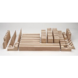 Beginner Natural Wood Block Set