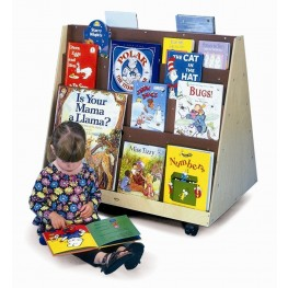 Two Sided Book Display Stand