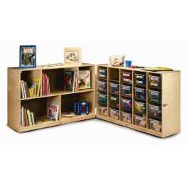 20 Tray Fold and Roll Cabinet