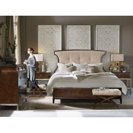 Skyline Beige Upholstered Panel Bedroom Set