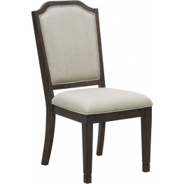 Hamilton Brown Side Chair Set of 2