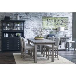 Prospect Hill Gray Rectangular Counter Height Dining Room Set