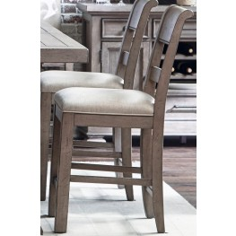 Prospect Hill Gray Gathering Chair Set of 2
