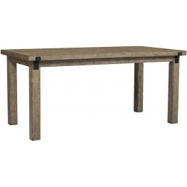 flatbush brown rectangular counter height dining table s084 136