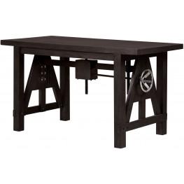 Fulton St. Brown Cranking Desk