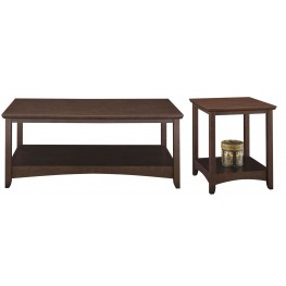 Buena Vista Madison Cherry Occasional Table Set