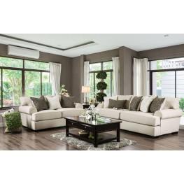 Gilda Beige Living Room Set