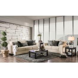 Durand Ivory Living Room Set