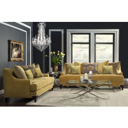 Viscontti Gold Living Room Set