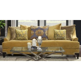 Viscontti Gold Sofa