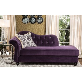 Antoinette Purple Chaise