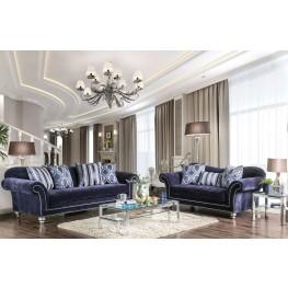 Safiya Navy Living Room Set