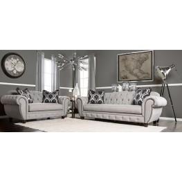 Viviana Gray Living Room Set