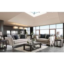 Chantal Gray Living Room Set