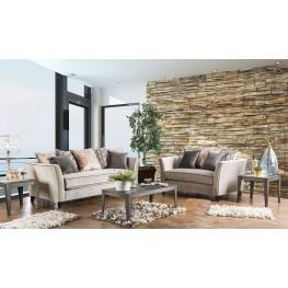 Chantal Light Gray Living Room Set