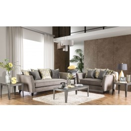 Chantal Grey Living Room Set