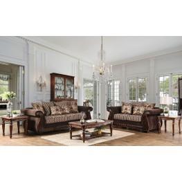 Thales Brown Living Room Set