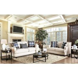 Haskell Beige Living Room Set