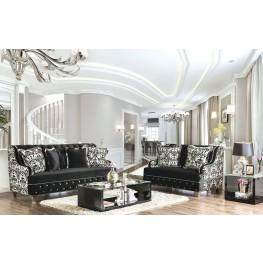 Nazzareno Black Living Room Set