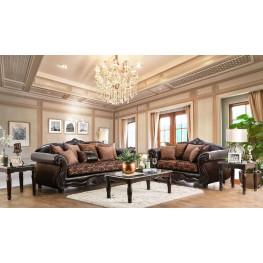 Elpis Brown Living Room Set