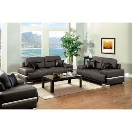Thessaly Black Living Room Set