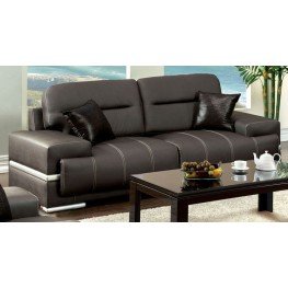 Thessaly Black Sofa