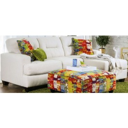 Pollock Ivory Upholstered Sectional