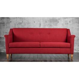 Mallory Red Sofa
