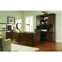 Cherry Creek Brown 66'' Home Office Set